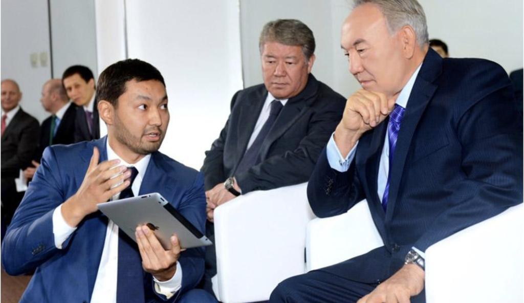 Кенес Ракишев и Назарбаев