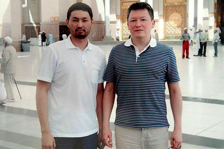 Кенес Ракишев и Тимур Кулибаев